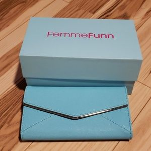 Femmefunn purse wallet clutch promo